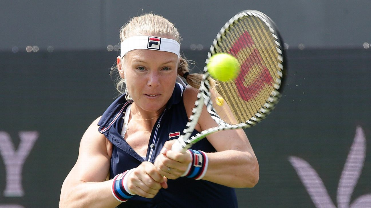 Bertens shocked by Riske in Rosmalen final