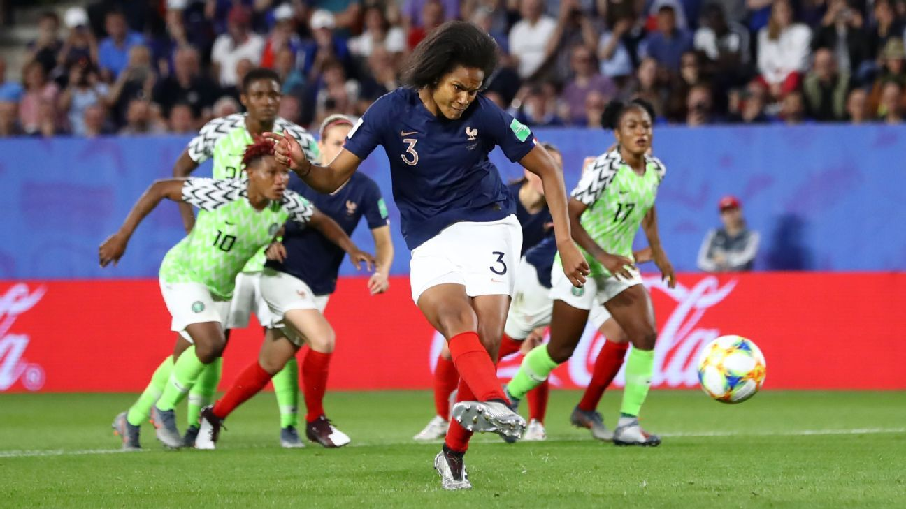 France scores a Women's World Cup win over Nigeria after VAR saves the day
