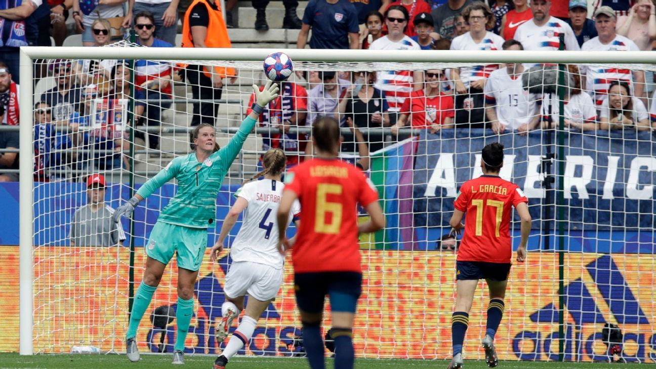 2019 FIFA Women's World Cup - Any questions how the U.S. will bounce back from mistakes? Not anymore