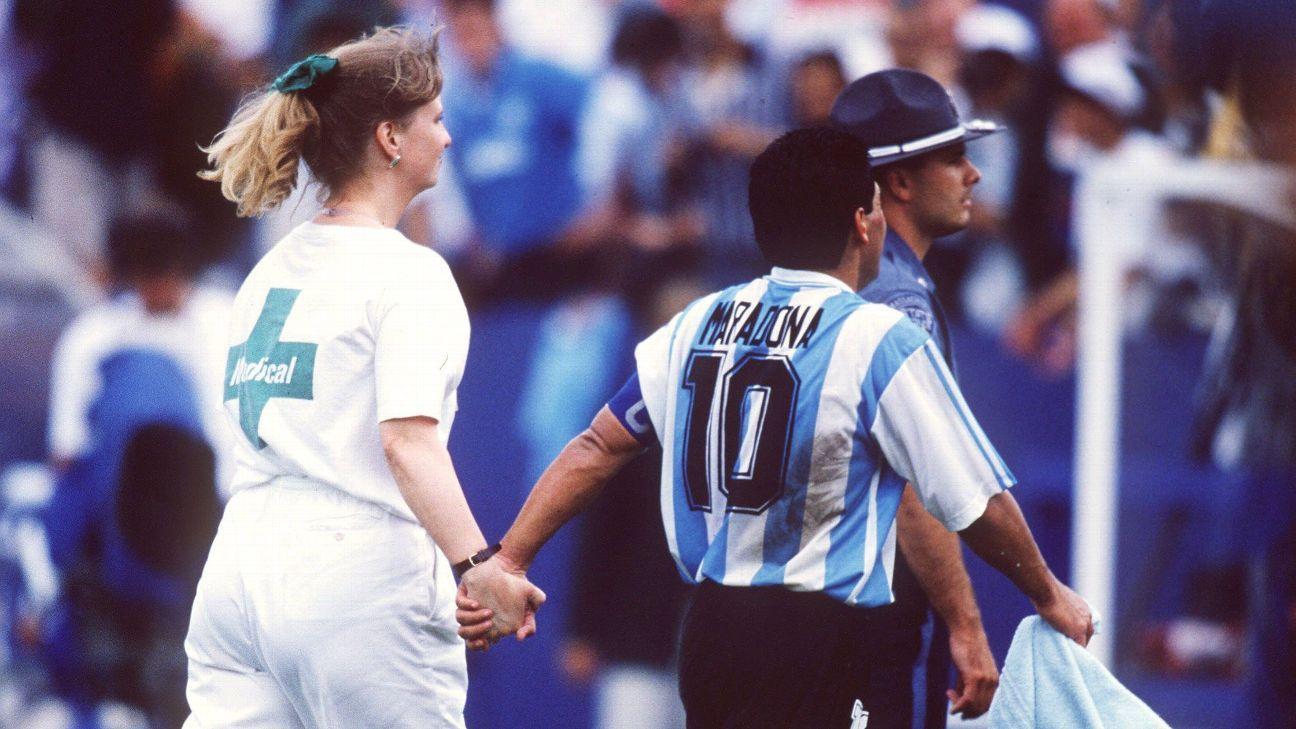 Há 25 anos: O último ato de Maradona com a camisa da Argentina em Copas do  Mundo