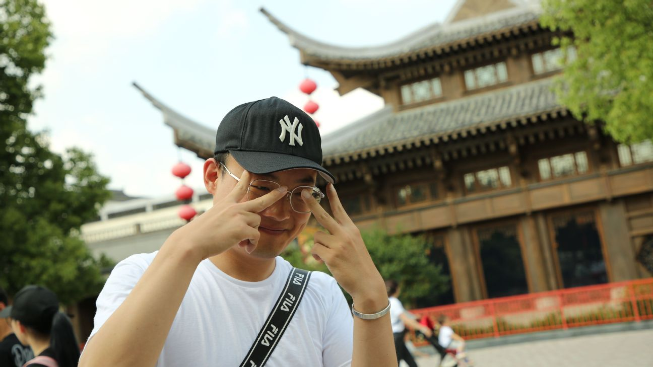 best website 1821d 53a80 Sam Borden - Why the Yankees hat has become a global fashion sensation