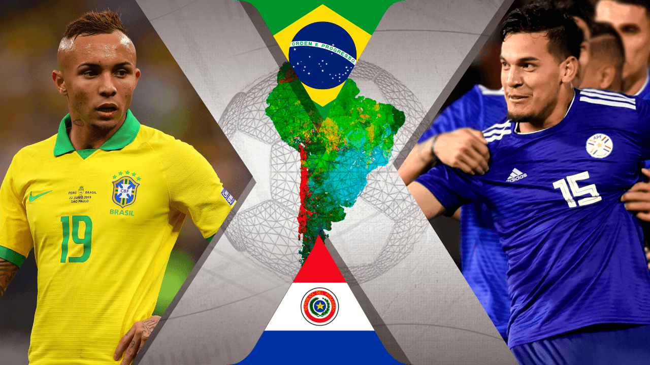 Brasil x paraguai ao vivo