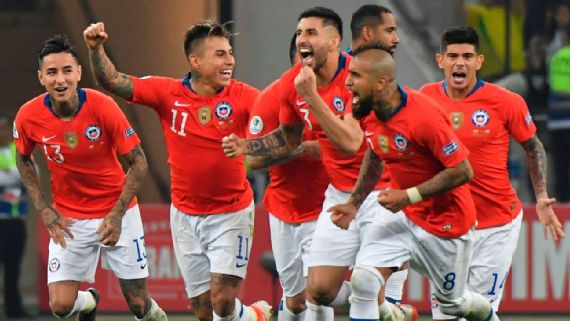 Colombia Vs Chile Football Match Report June 28 2019 Espn That's 8.20pm in sao paulo, 6.20pm in. colombia vs chile football match