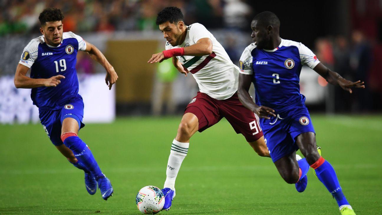 Haiti vs  Mexico - Football Match Report - July 3, 2019 - ESPN