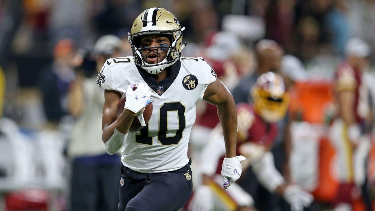 Fantasy football: Ranking the No. 3 WRs around the NFL