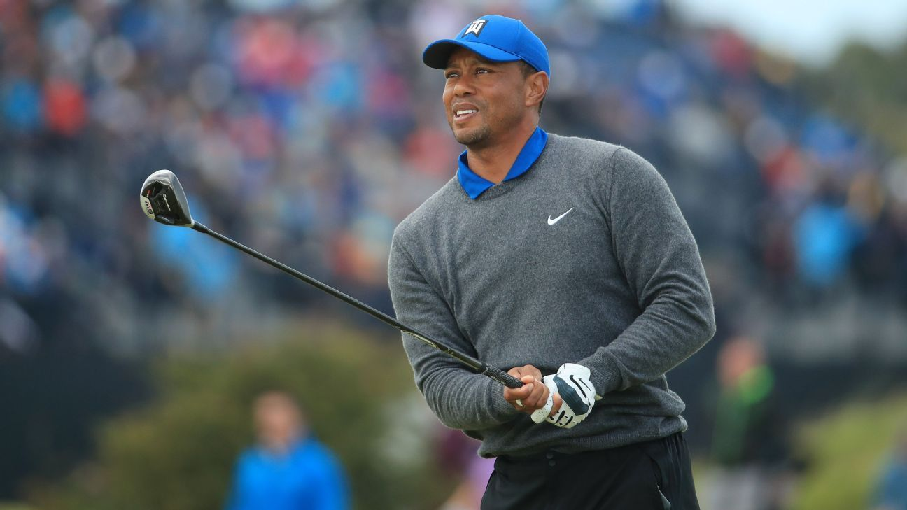 How Tiger pretty much played himself out of The Open