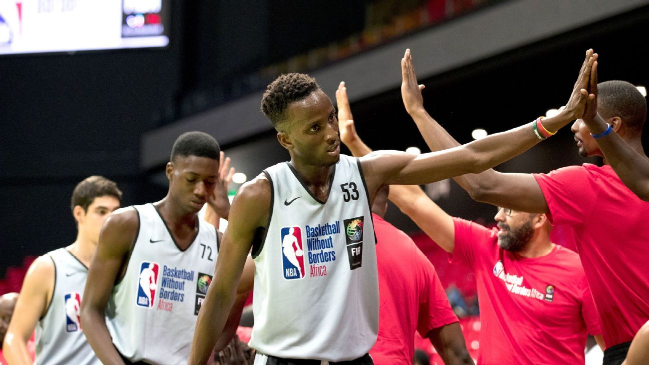 A rising NBA Africa draft pipeline at Basketball Without Borders