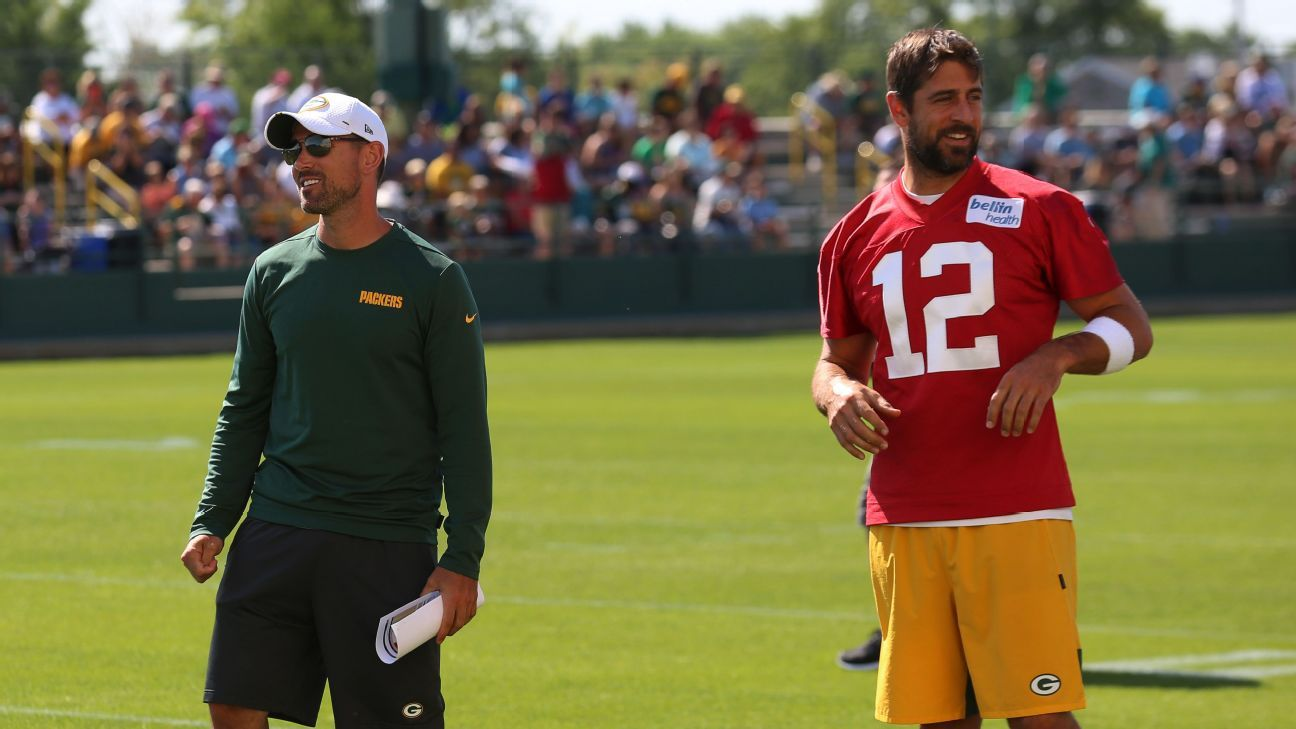 The first 20: How Matt LaFleur, Aaron Rodgers create Packers' game plan