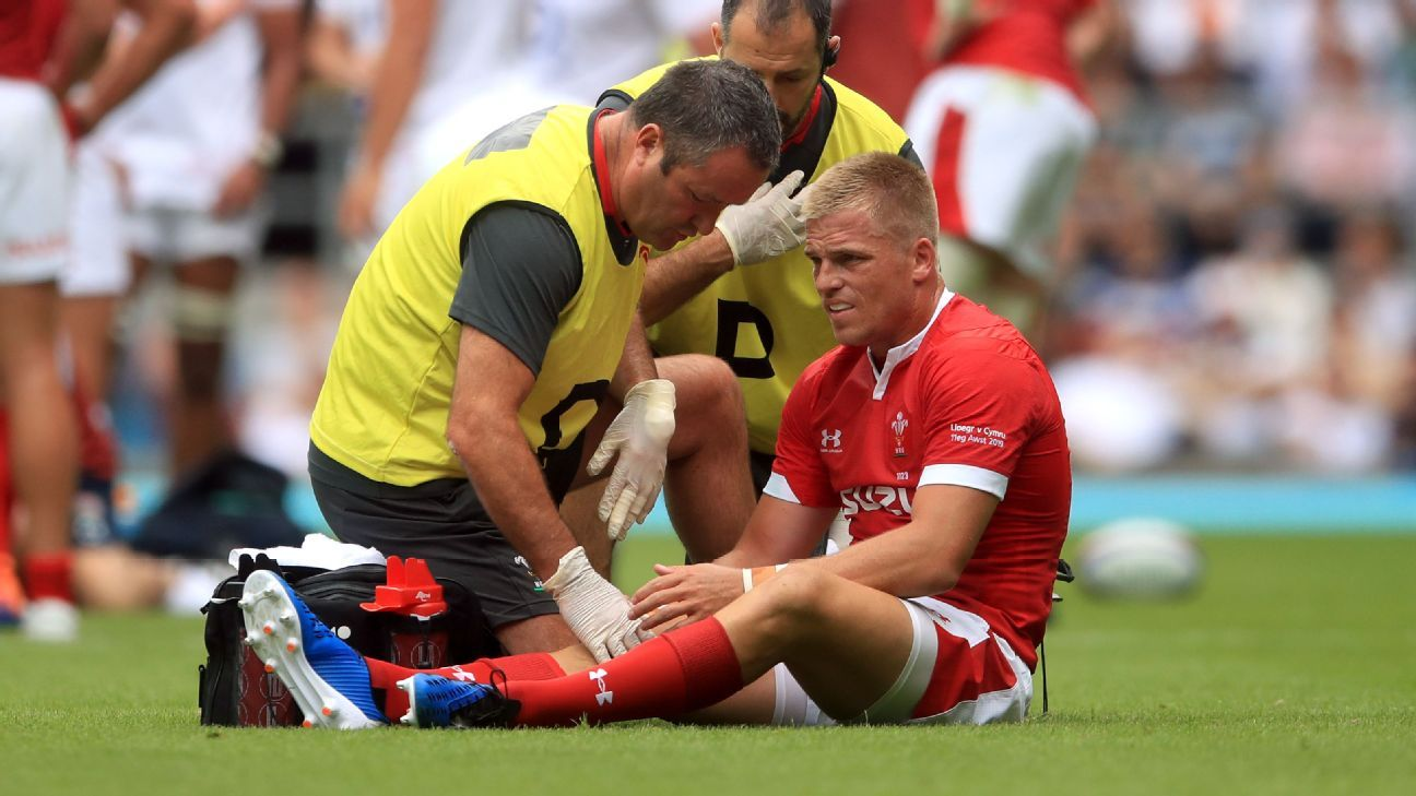 Wales fly-half Anscombe out of World Cup