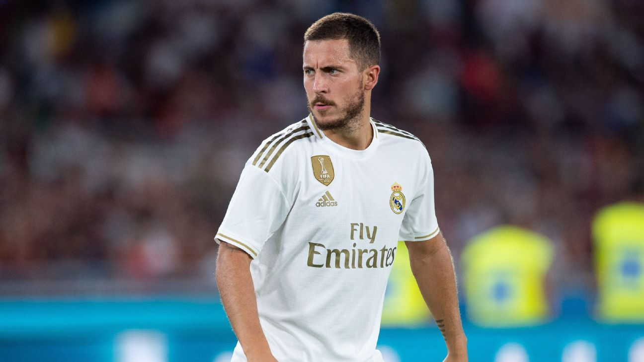 Real Madrid's Hazard admits to holiday excesses - 'I gained five kilos'