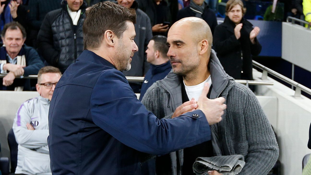 Tottenham are second best in Europe - Guardiola