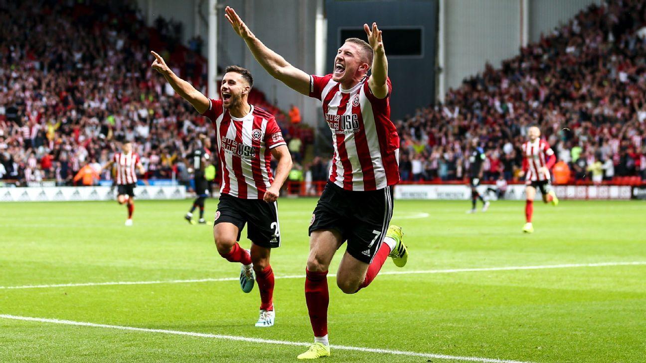 Lundstram strikes as Sheffield Utd beat Palace