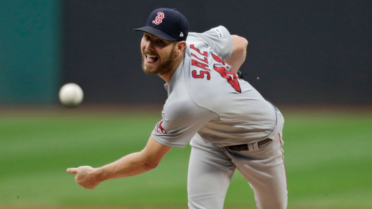 Red Sox's Sale undergoes Tommy John surgery