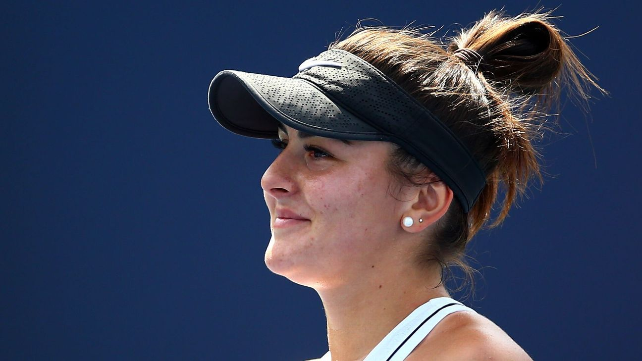 Bianca Andreescu ready to do big things at the US Open