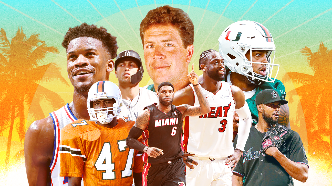 Miami's vice: Star power lacking in South Florida sports scene