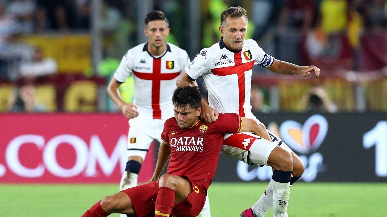AS Roma vs. Genoa - Football Match Report - August 25, 2019 - ESPN