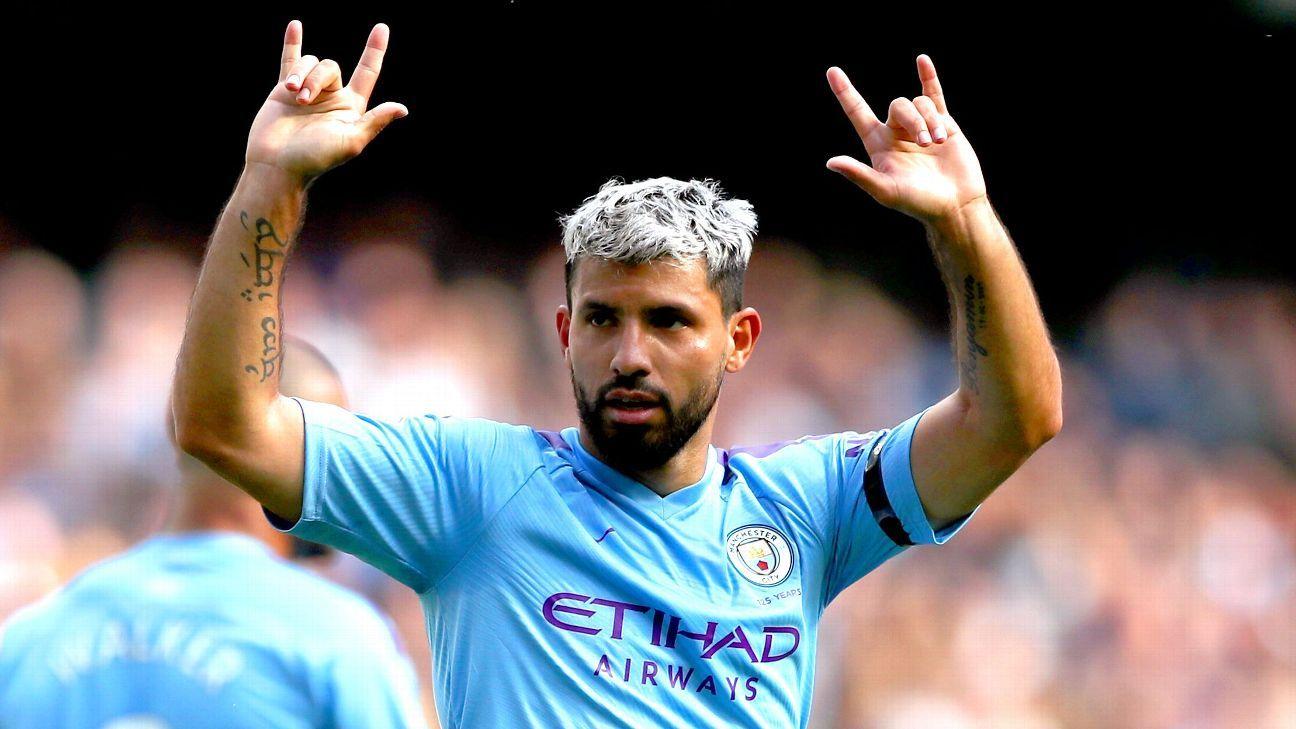 Sources: Manchester City's Sergio Aguero unhurt after car crash