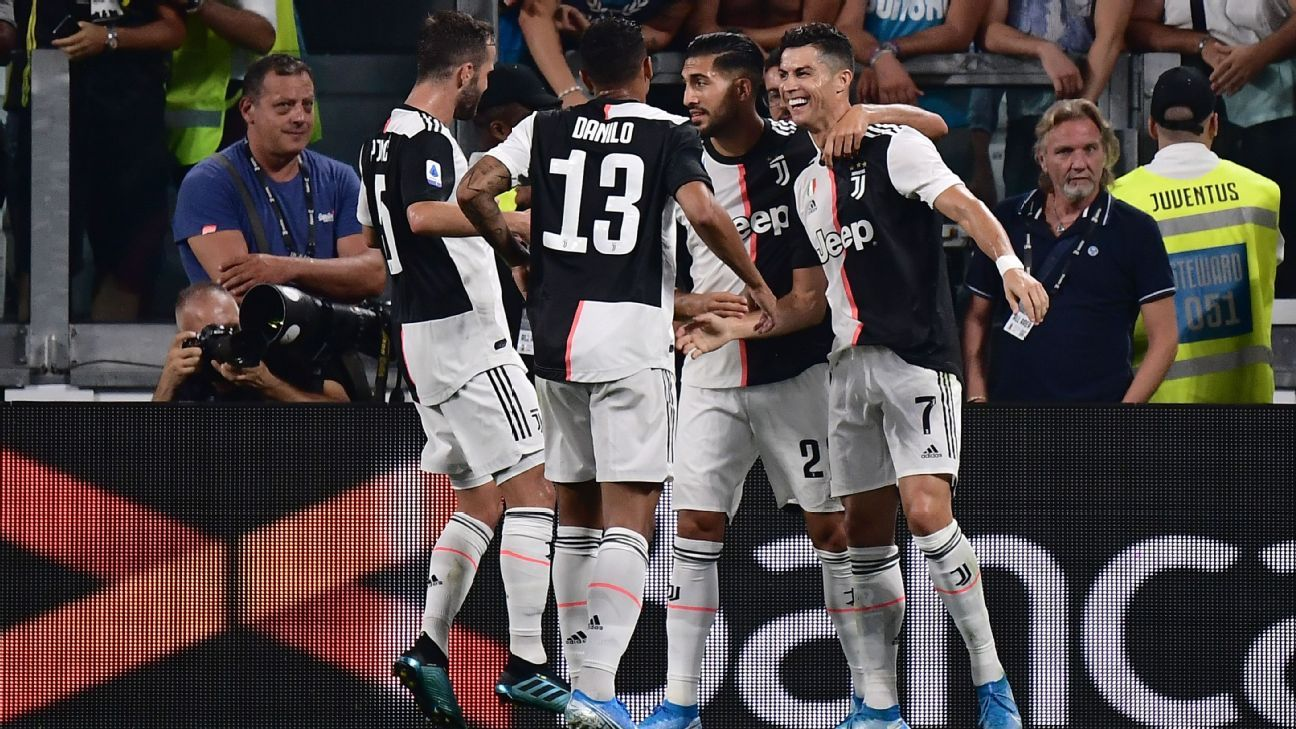 Juventus Vs Napoli Football Match Report August 31 2019 Espn