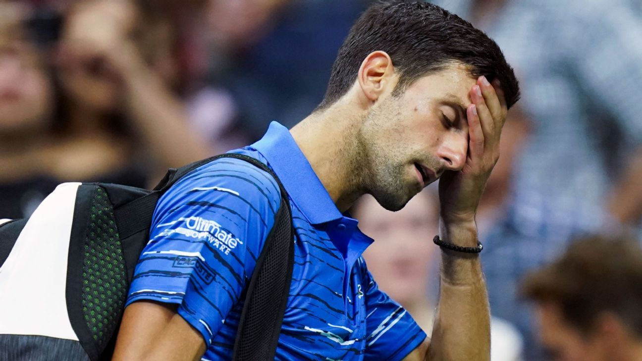 Novak Djokovic's run ends in disappointment at the US Open