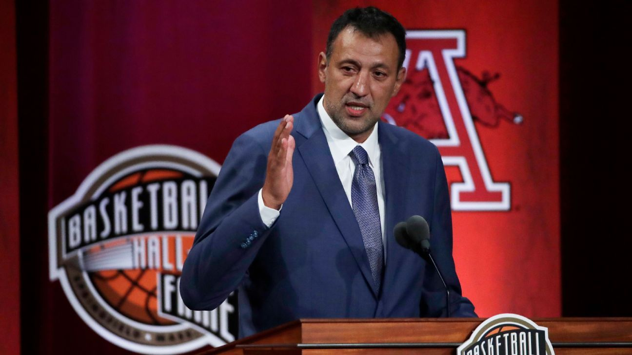 Divac kicks off Hall of Fame induction ceremony