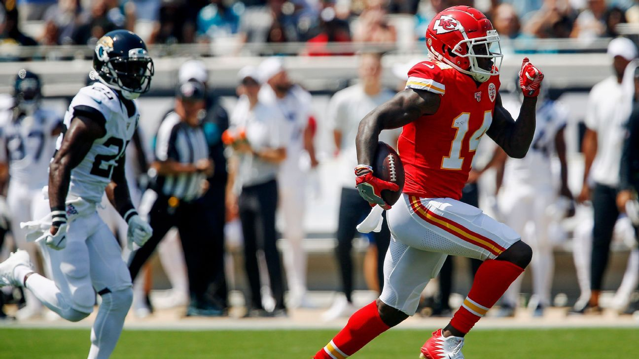 Sammy Watkins to miss second straight Chiefs game