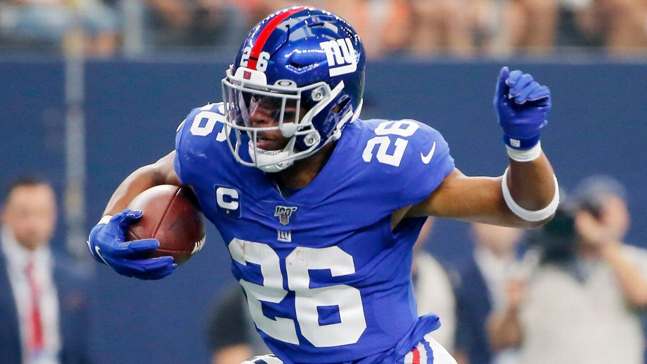 promo code 49e3a ed682 Are Saquon Barkley, Giants being honest with themselves ...