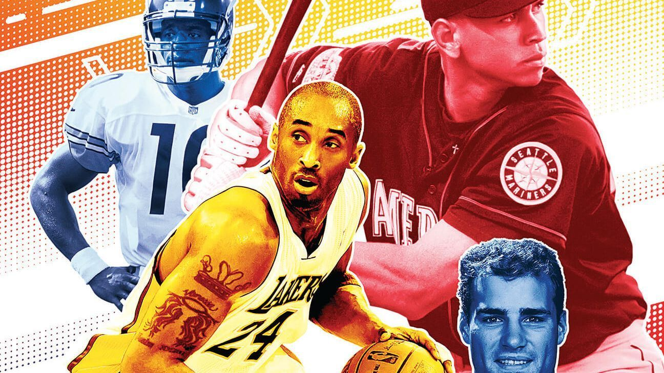 Who's got next? The four athletes who appeared on our first cover