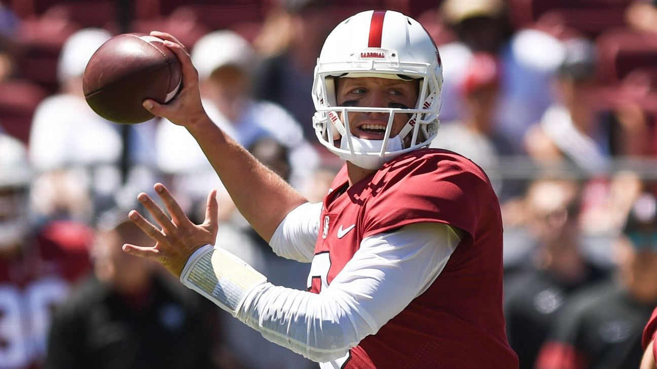Stanford QB Costello ruled out with injured hand