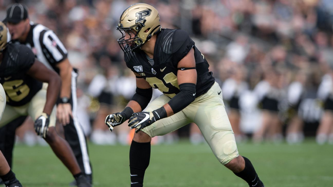 Boilermakers LB Bailey (knee) out for season