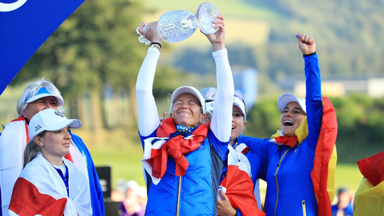 Clutch Suzann Pettersen leads Europe to redeeming Solheim Cup win