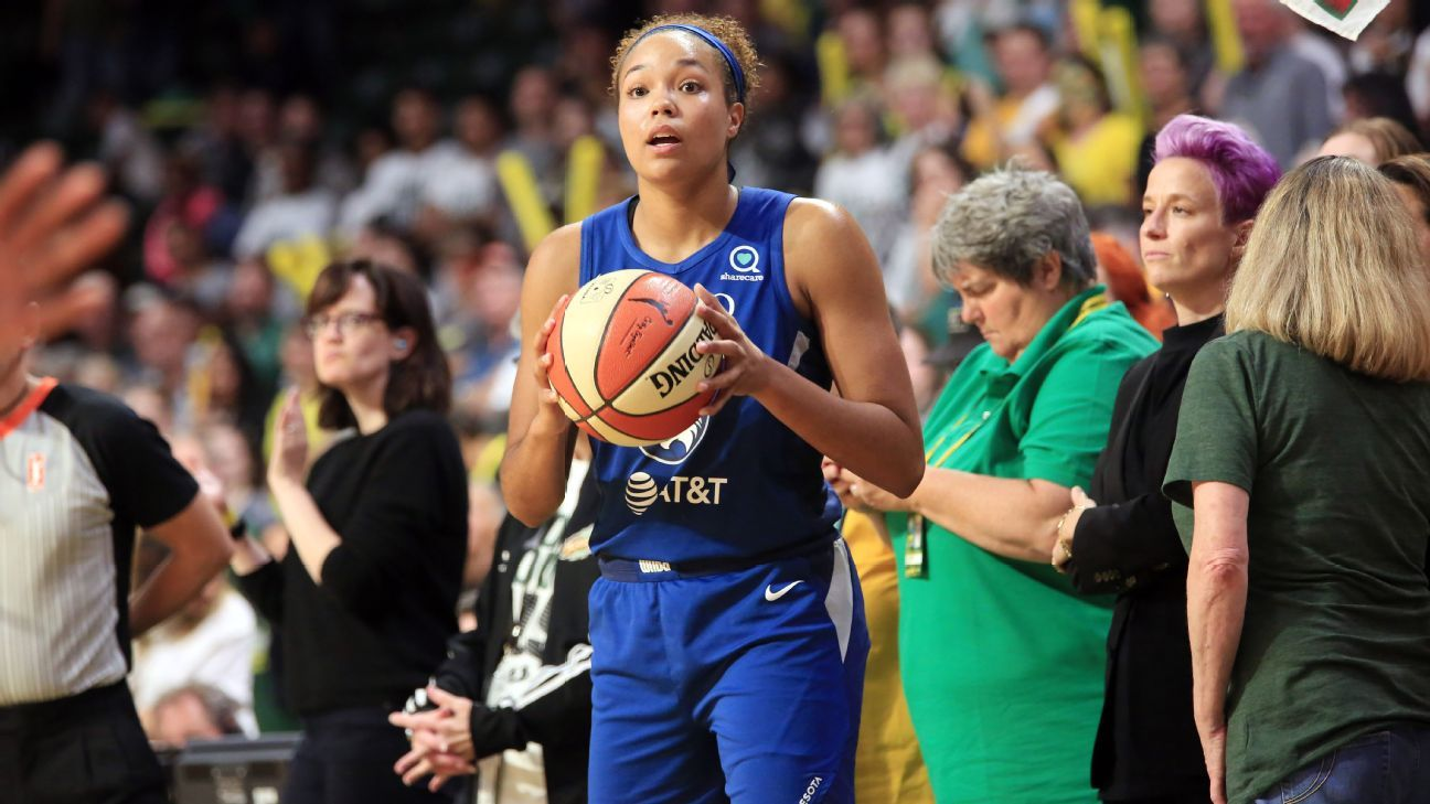 Lynx's Collier named WNBA Rookie of the Year