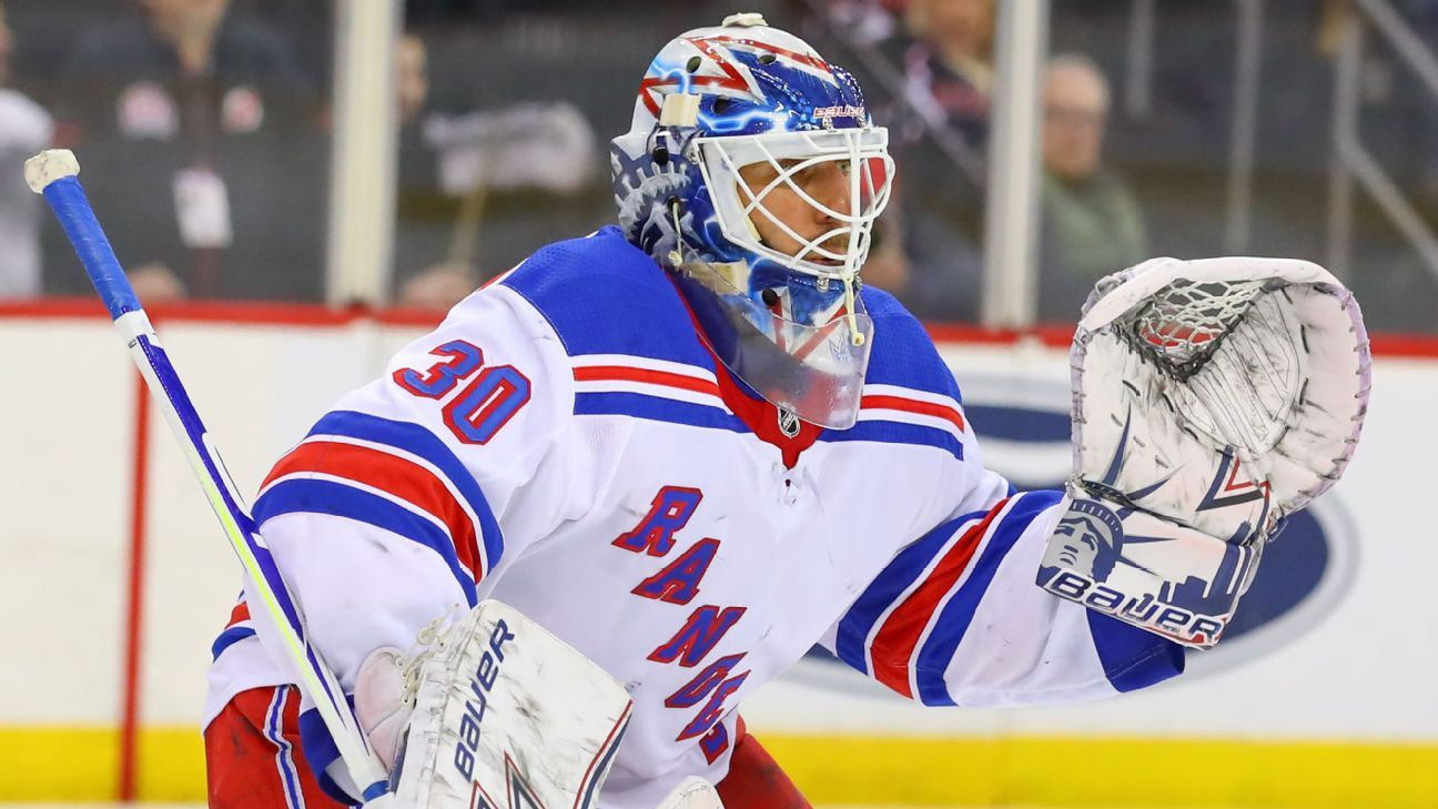 Henrik Lundqvist talks Rangers rebuild, his workload and being 'the shampoo guy'