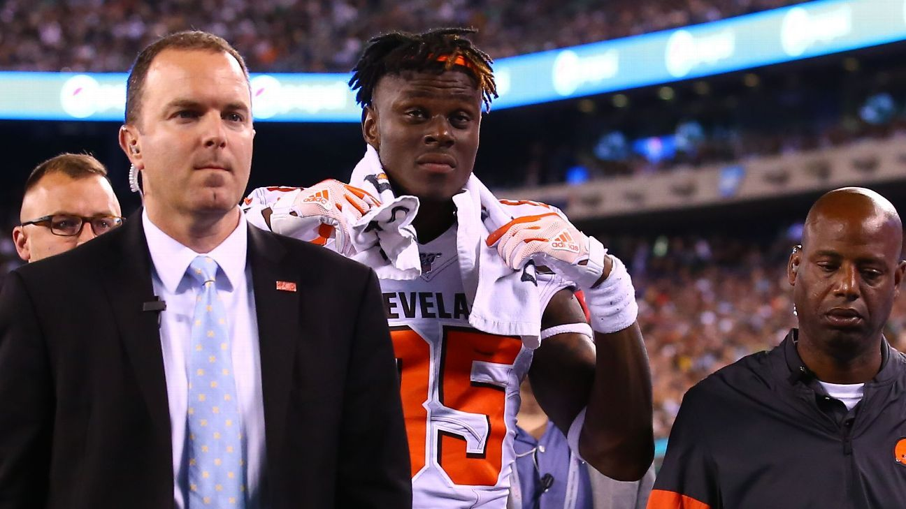 Source: Browns' Njoku could need wrist surgery