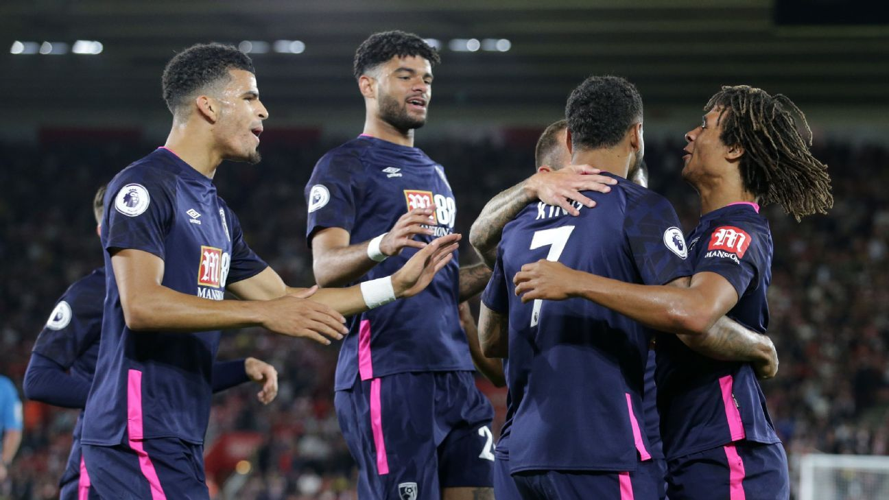 Bournemouth go third with win at Southampton