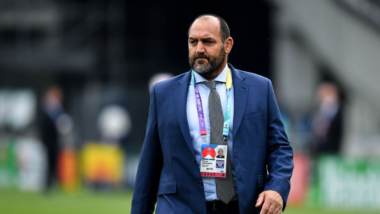 Pumas coach Ledesma slams referee after defeat by France
