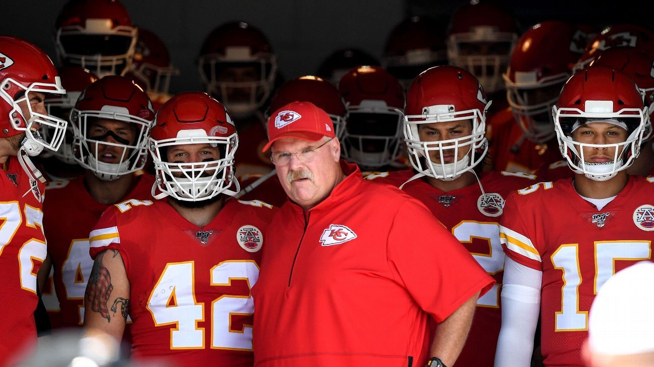 Inside Andy Reid's life of tall tales: Tighty-whities, 40-ounce steaks and more