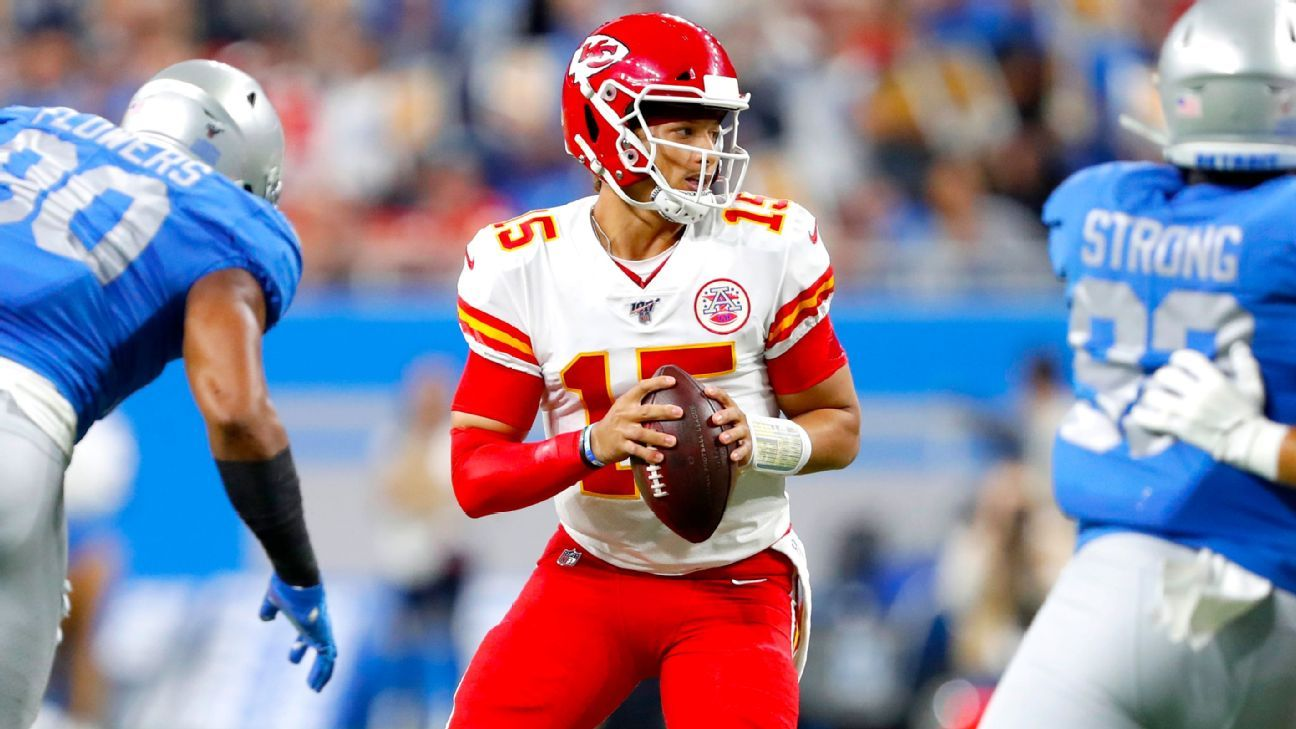 Patrick Mahomes Td Streak Ends But Kansas City Chiefs