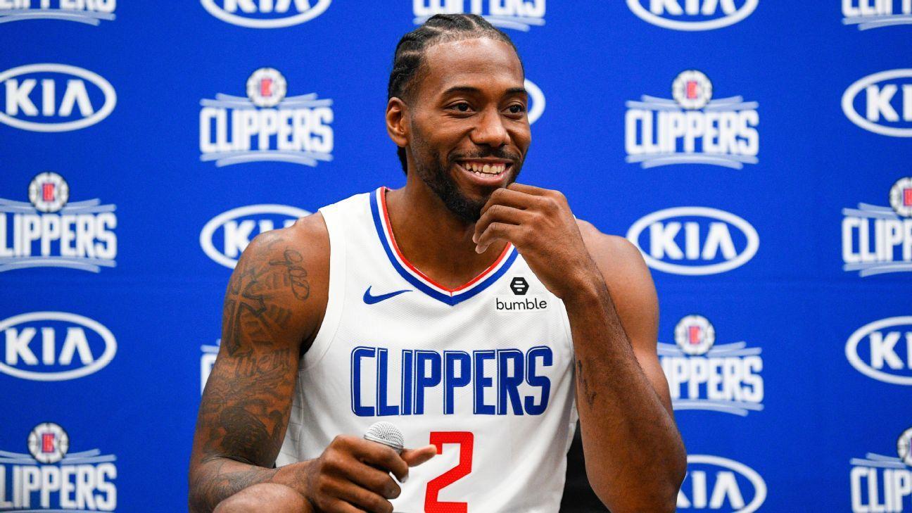 Kawhi Leonard quickly makes splash in preseason debut with Los Angeles Clippers