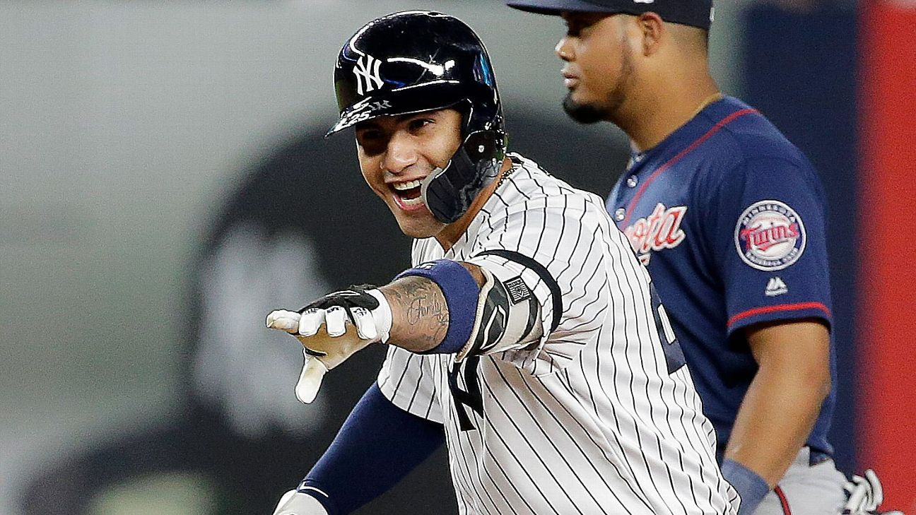 In battle of heavyweight sluggers, Round 1 goes to Yankees