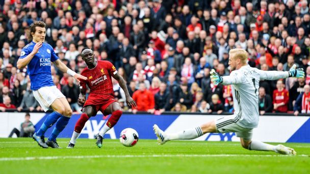 liverpool vs leicester city football match summary october 5 2019 espn liverpool vs leicester city football