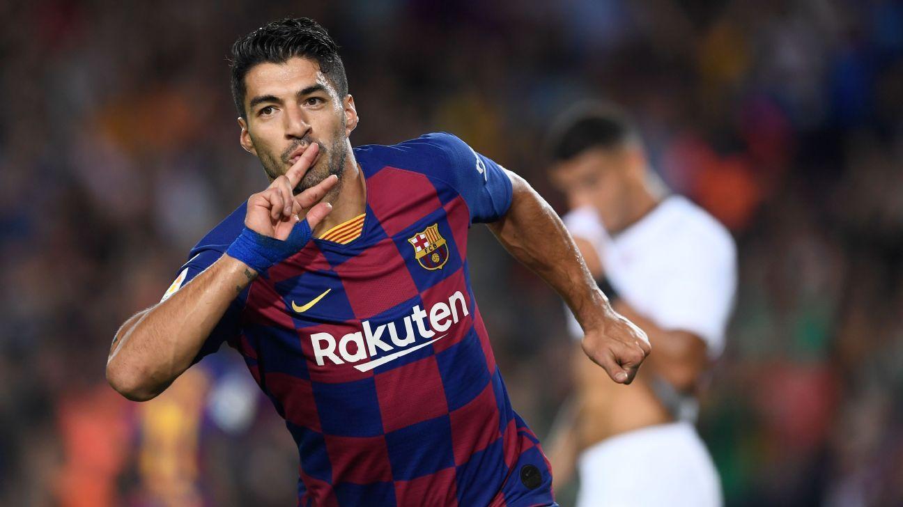 Suarez set for Barca return in La Liga restart