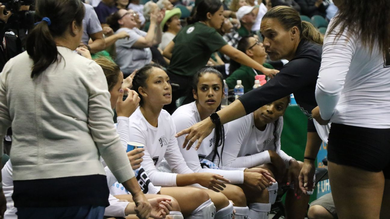 Resurgent Hawai'i volleyball reaching new (and old) heights