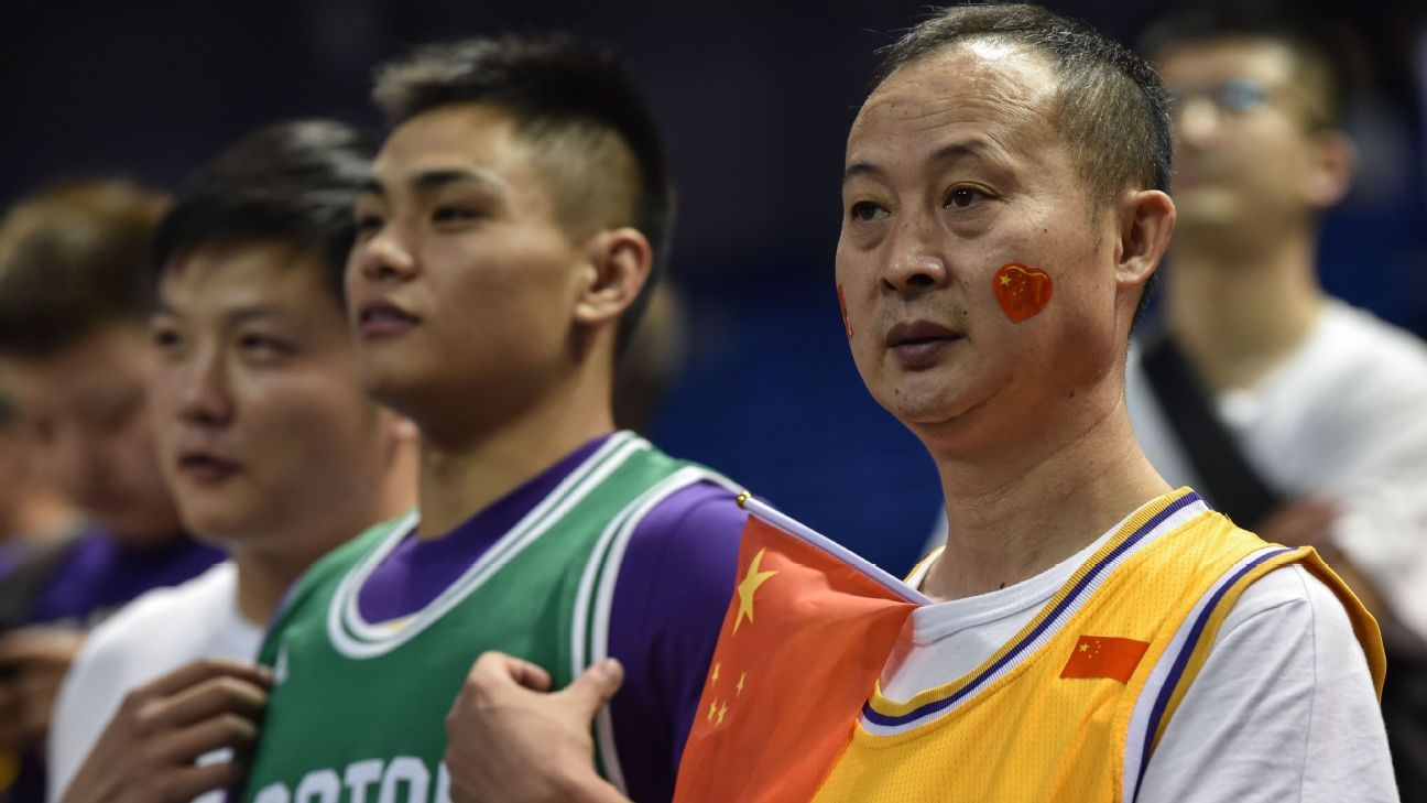 NBA game in China played with some restrictions