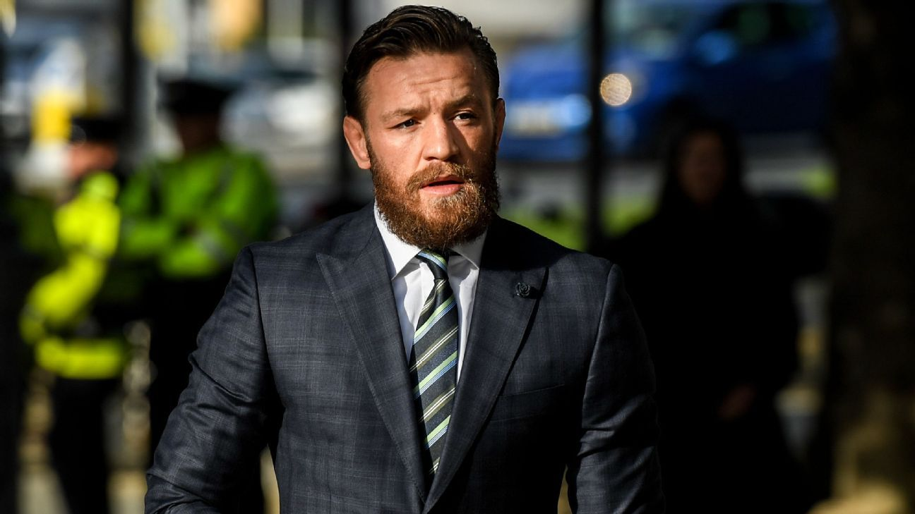 Conor McGregor reportedly accused of second sexual assault