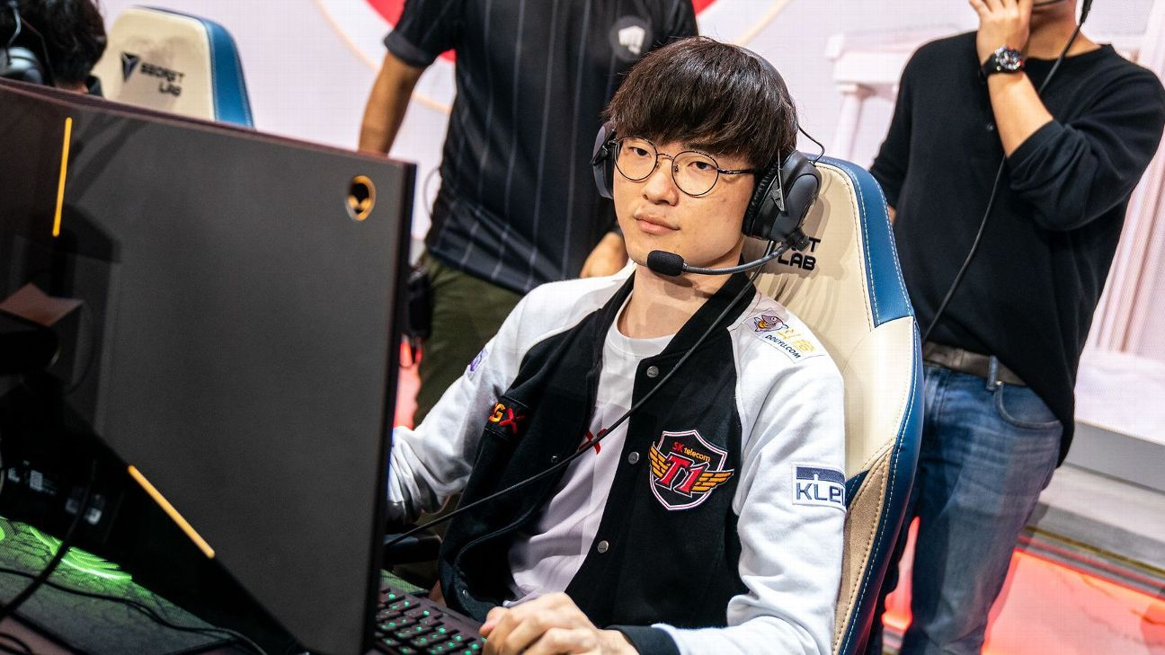 T1's Faker impressive in return to worlds stage
