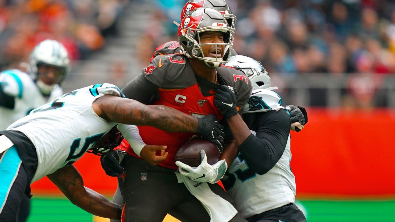 Jameis Winston's six turnovers put Bucs in hole they can't escape