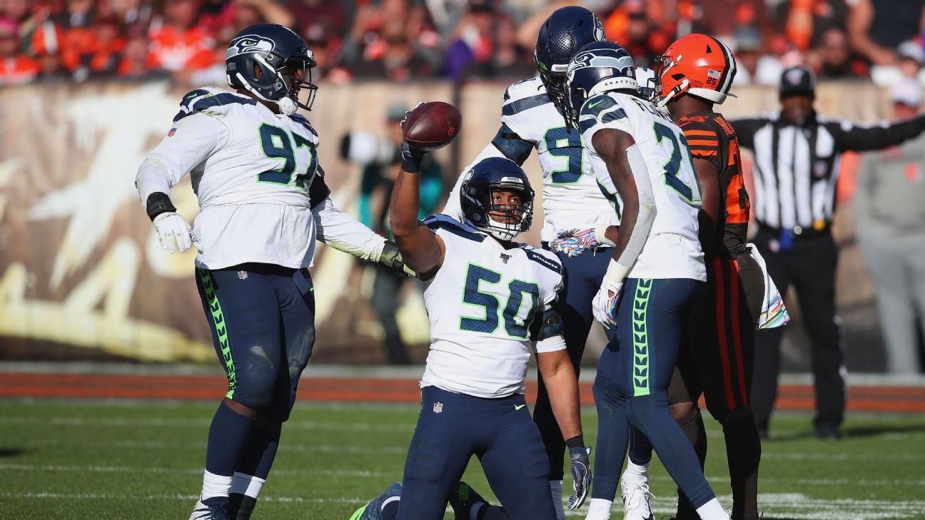'Turnover Thursday' carries over for Seahawks, keys 5-1 start
