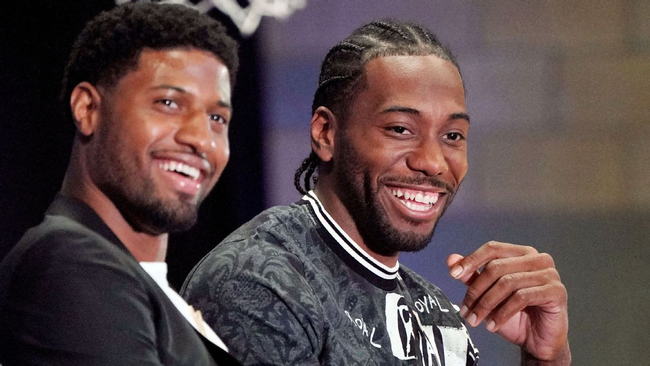 Clippers' Kawhi Leonard to play vs. Celtics, alongside Paul George