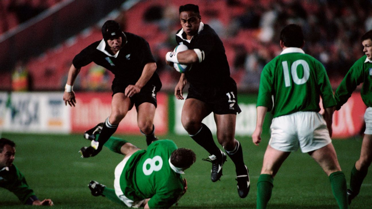 Remembering Lomu's transcendent performance the last time New Zealand met Ireland