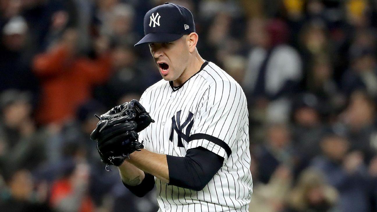 James Paxton, Aaron Hicks answer call in Yankees' season-saving win